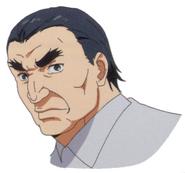 Anime design of Kuroiwa's face