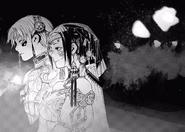 Kaneki and Touka ceremony attire