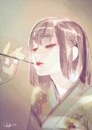 Hinami Birthday Illustration 2017