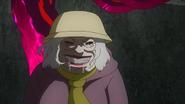Kie Muramatsu about to eat Amon