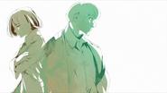 Younger Enji Koma and Kaya Irimi in ED2-10