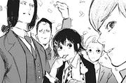 Suzuya Squad at Takeomi's wedding