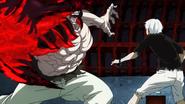 Kaneki fighting with Yamori2