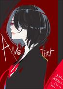 Ishida's illustration of Mei for Kiyohara's birthday