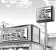 Big Girl Restaurant exterior