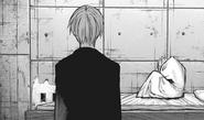 Kaneki visits Akira
