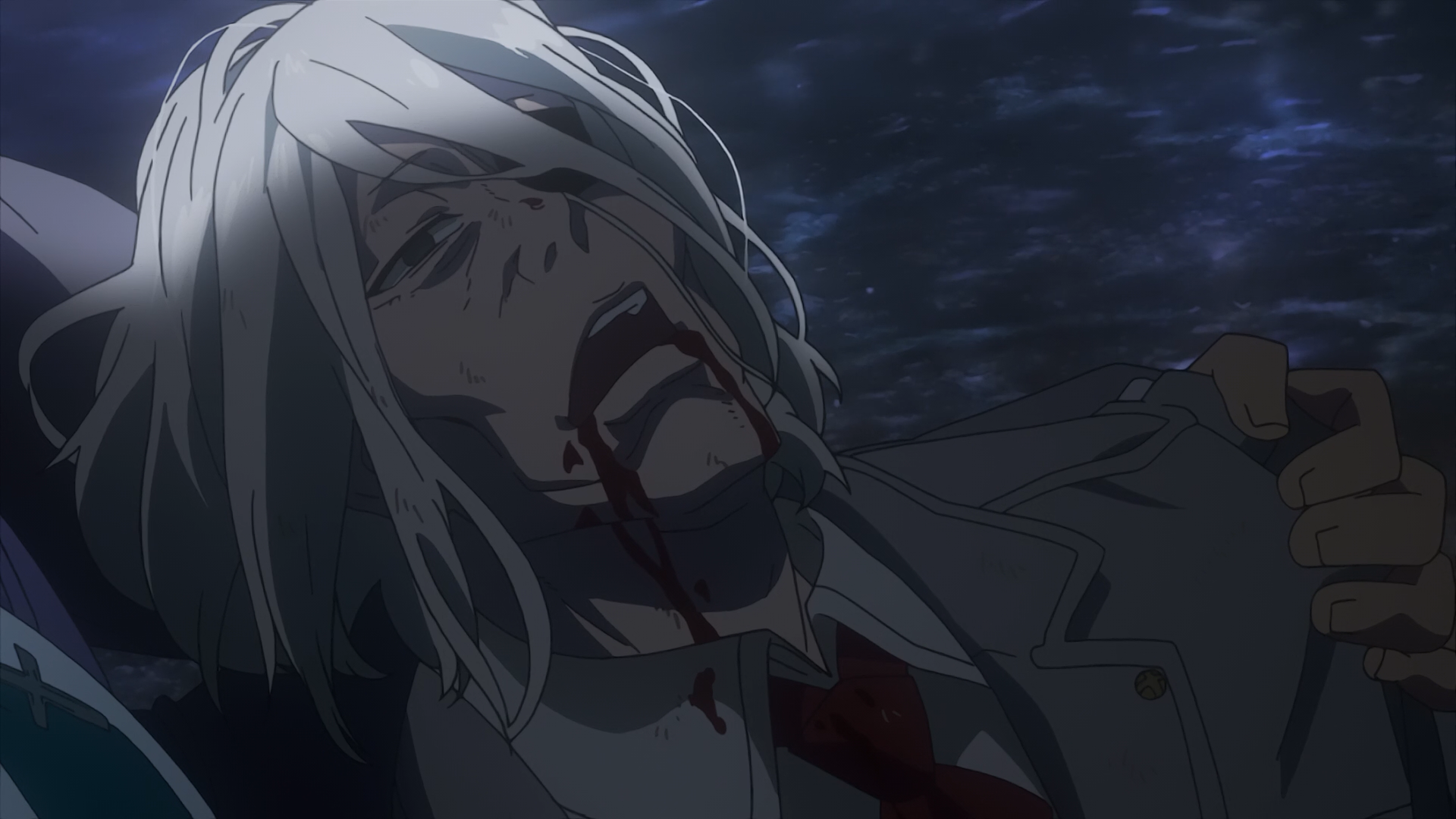 Image - Amon holding Kureo's dead body.png | Tokyo Ghoul ...