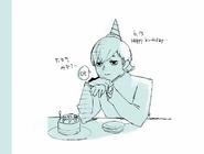Mizurou Tamaki Birthday Illustration 2016