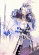 Ishida's illustration of Kuja from Final Fantasy IX