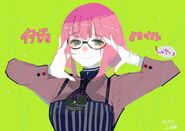 Hairu Ihei's Birthday Illustration 2016