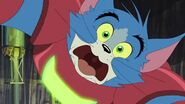 Tom and Jerry Spy Quest - Tom shocked close up