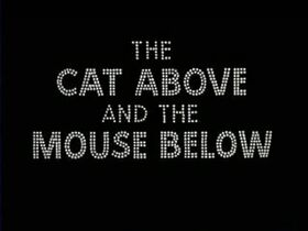The Cat Above and the Mouse Below Title Card