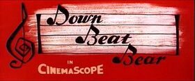 Down Beat Bear credits