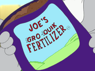 Game Set Match - Joe's Gro Quik Fertilizer bag