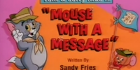 Mouse with a Message