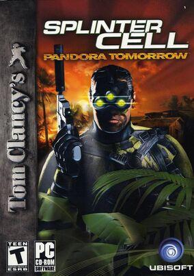 Splinter Cell Pandora Tomorrow Cover