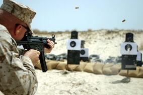 USMC MP5 Submachine Gun