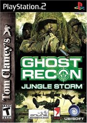 Ghost recon jungle storm game cover