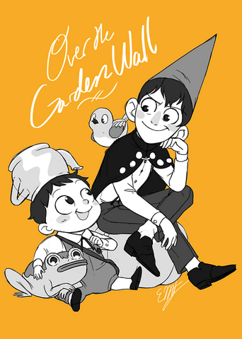 File:Over the Garden Wall Cover Art - Fan Art.png
