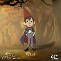 Wirt Over the Garden Wall Art
