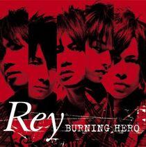 Burning Hero album cover
