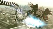 Super RMax vs. Snake Train