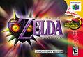 The Legend of Zelda - Majora's Mask Box Art