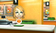 Mii shopkeeper food mart