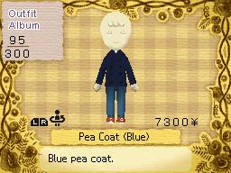 Pea Coat (Blue)