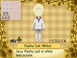 Flashy Suit (White)