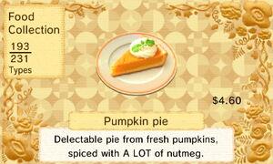 Pumpkin Pie (US)