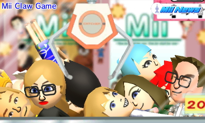 Mii Claw Game