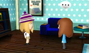 Miis talking to each other