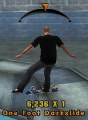 One Foot Darkslide