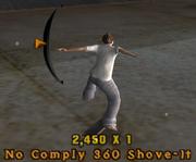 No Comply 360ShoveIt