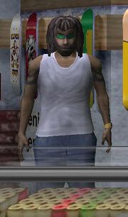 Character Rasta Guy