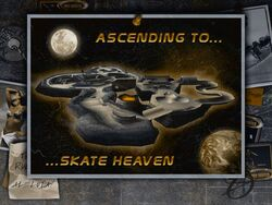 THPS2 skate heaven load screen