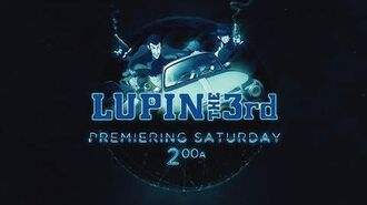 Lupin The Third - 1st Toonami Promo