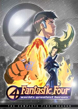 Fantastic Four WGH DVD