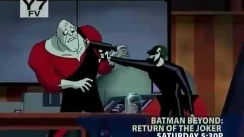 Toonami - Return of the Joker and Stone of Gelel Short Promo