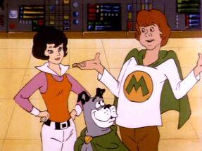 Wendy Harris, Marvin White & Wonder Dog
