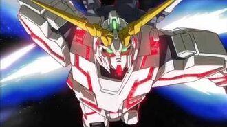 Toonami Mobile Suit Gundam Unicorn Short Promo