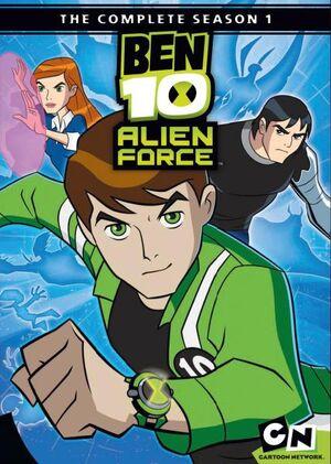 Ben 10 Alien Force DVD