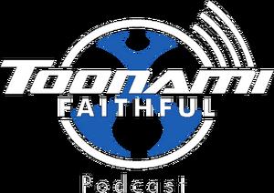 Toonami faithful podcast white