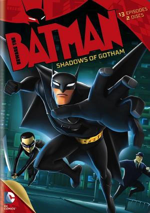 Beware the Batman DVD