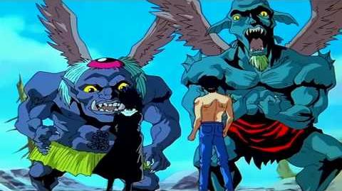 Toonami - Yu Yu Hakusho Intro 5 (1080p HD)