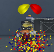 Level 7 confetti