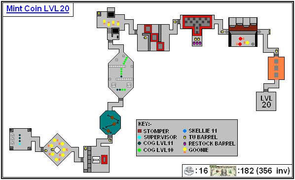 Mint Maps - Coin - LVL20