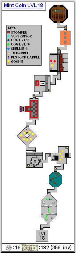 Mint Maps - Coin - LVL18