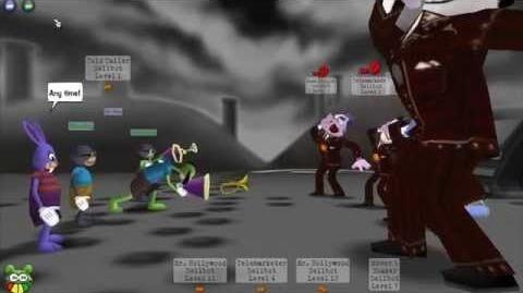 Toontown Rewritten Pre-Beta Gameplay - Part 2